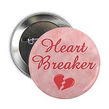 """Heart Breaker 2.25"""" Button"""