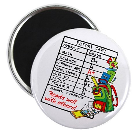 Reads Well with Others! Magnet