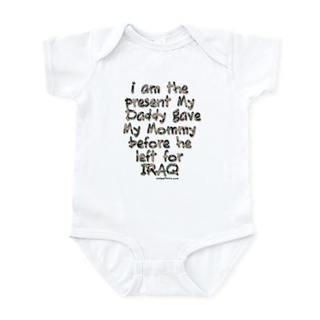 present Daddy gave my Mommy ( Infant Bodysuit