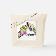 Cute Deaf art Tote Bag