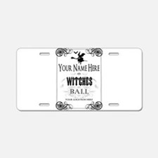 Witches Ball Aluminum License Plate