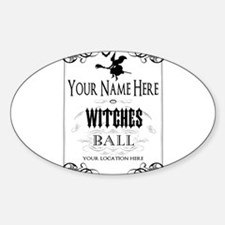 Witches Ball Decal