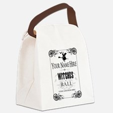 Witches Ball Canvas Lunch Bag