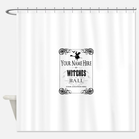 Witches Ball Shower Curtain