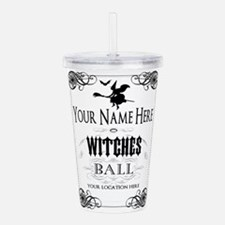 Witches Ball Acrylic Double-wall Tumbler