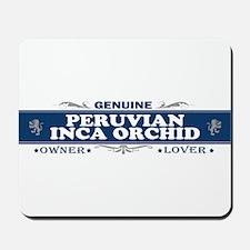 PERUVIAN INCA ORCHID Mousepad