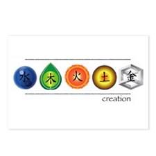 Creation Cycle Postcards (Package of 8)
