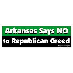 Arkansas Republican Bumper Bumper Sticker