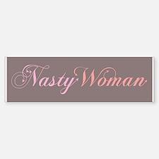 Nasty Woman Bumper Car Car Sticker