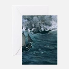 Unique Maritime art Greeting Card