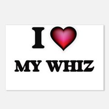 I love My Whiz Postcards (Package of 8)