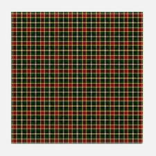 MacLachlan Hunting Tartan Plaid Tile Coaster