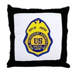 DEA Special Agent Throw Pillow