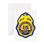 DEA Special Agent Greeting Cards (Pk of 10)