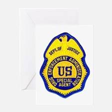 DEA Special Agent Greeting Card