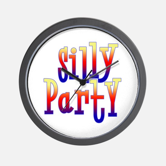 Silly Party Wall Clock