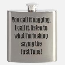 Cute Nag Flask