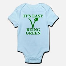 Easy Being Green Body Suit