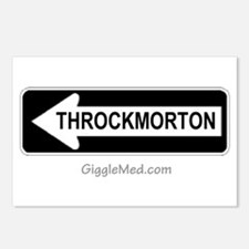 Throckmorton Sign Postcards (Package of 8)