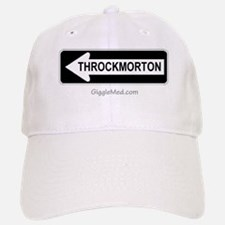 Throckmorton Sign Baseball Baseball Cap