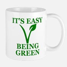 Easy Being Green Mugs