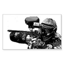 Paintball / Wargamer - Rectangle Decal