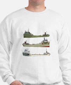 Cement Carriers On The Great Lakes Sweatshirt