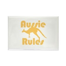 Aussie Rules Rectangle Magnet