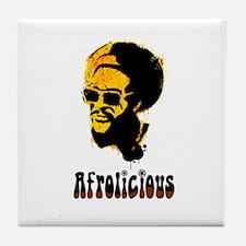 Afrolicious Tile Coaster