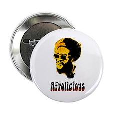 "Afrolicious 2.25"" Button"