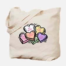 Candy Hearts I Tote Bag