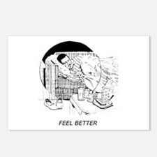 Feel Better Postcards (Package of 8)