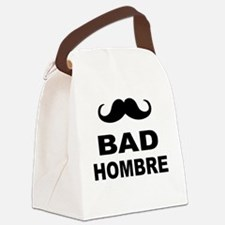 Unique Mustache Canvas Lunch Bag