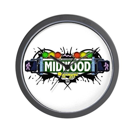 Midwood (White) Wall Clock