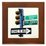 Tito Puente's Way Framed Tile
