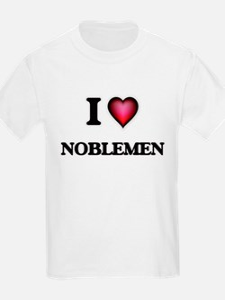 I Love Noblemen T-Shirt