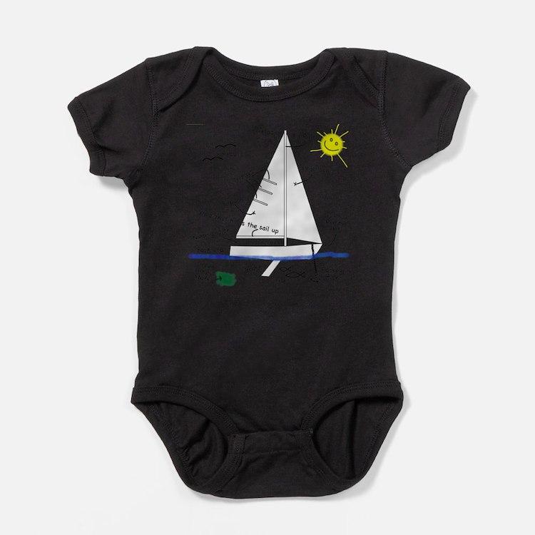 Cute Yachting Baby Bodysuit