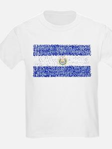 Textual El Salvador T-Shirt