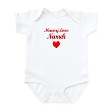 Mommy Loves Nevaeh Infant Bodysuit