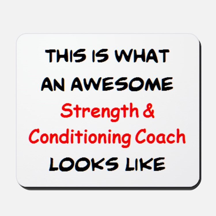 awesome strength & conditioning Mousepad