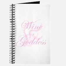 Glittery Wine Goddess Journal