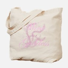 Glittery Wine Goddess Tote Bag