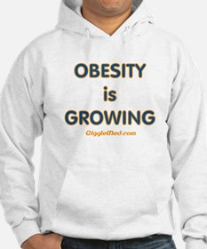 Obesity is Growing Hoodie