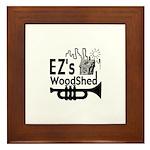 EZ's Woodshed Jazz Framed Tile