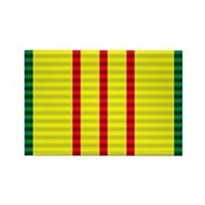 Vietnam Service Ribbon Rectangle Magnet