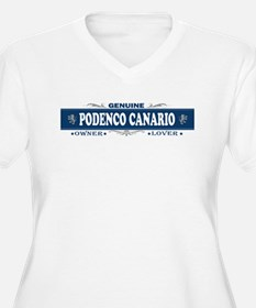PODENCO CANARIO Womes Plus-Size V-Neck T-Shirt