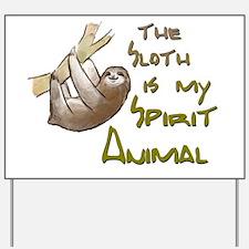 Cute Sloths Yard Sign