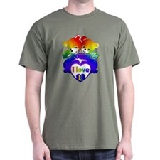 I Love U * RAINBOW * - T-Shirt
