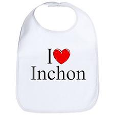 """I Love Inchon"" Bib"