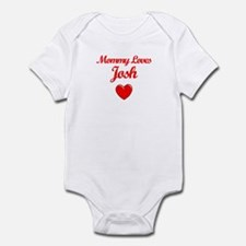 Mommy Loves Josh Infant Bodysuit